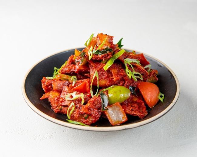 Madras Crispy Chili Parotta (V)