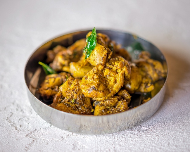 Chettinad Chicken Pepper Fry